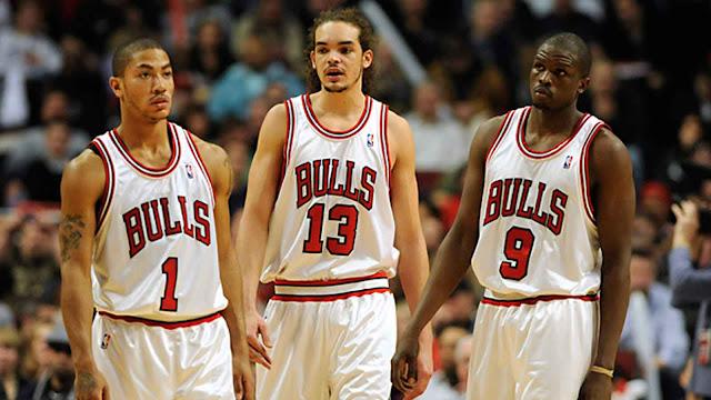 BALONCESTO - Los Chicago Bulls del MVP Derrick Rose en 2011