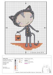 designer di punto croce, che fornisce disegni per molte riviste di punto croce popolari