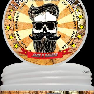 pomada modeladora para cabelos e barba jack barber