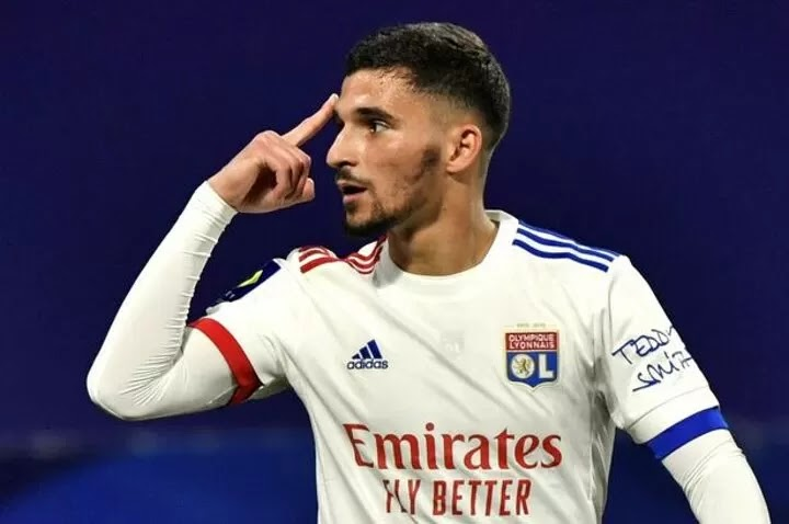 Man Utd and Liverpool join Arsenal in transfer fight for cut-price Houssem Aouar