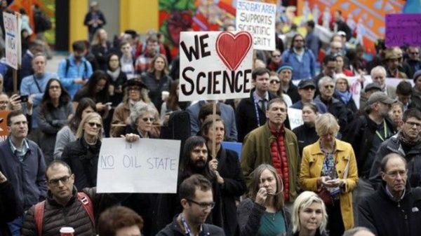 Científicos preparan movilizaciones contra Trump