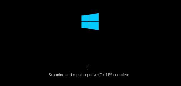 Chương trình Check Disk chạy trước khi vào màn hình Desktop