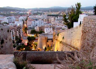 Murallas de la Dalt Vila. Ibiza. Eivissa