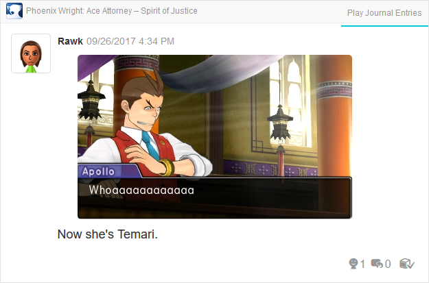 Phoenix Wright Ace Attorney Spirit of Justice Apollo gust