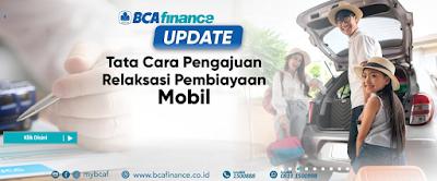 cara pengajuan keringanan kredit relaksasi kredit mobil di BCA Finance