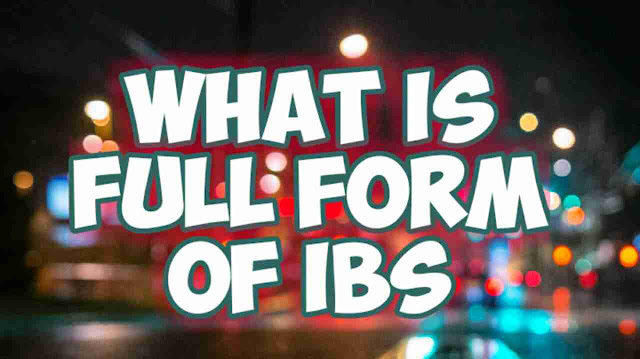 Full Form of IBS | In Weight Unit Banking Bike | (Full Form) - dealerrocks.com