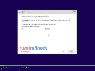 cara praktis install windows 10