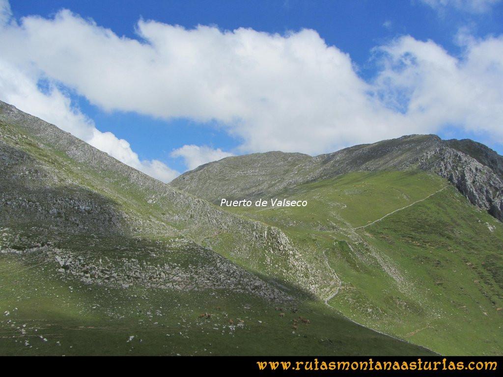 Ruta Tuiza Fariñentu Peña Chana: Puerto Valseco