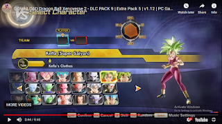 XENOVERSE 2 DlC PACK 9 OR UPDATE VERSION 1.12 OR EXTRA PACK 5 PART 2
