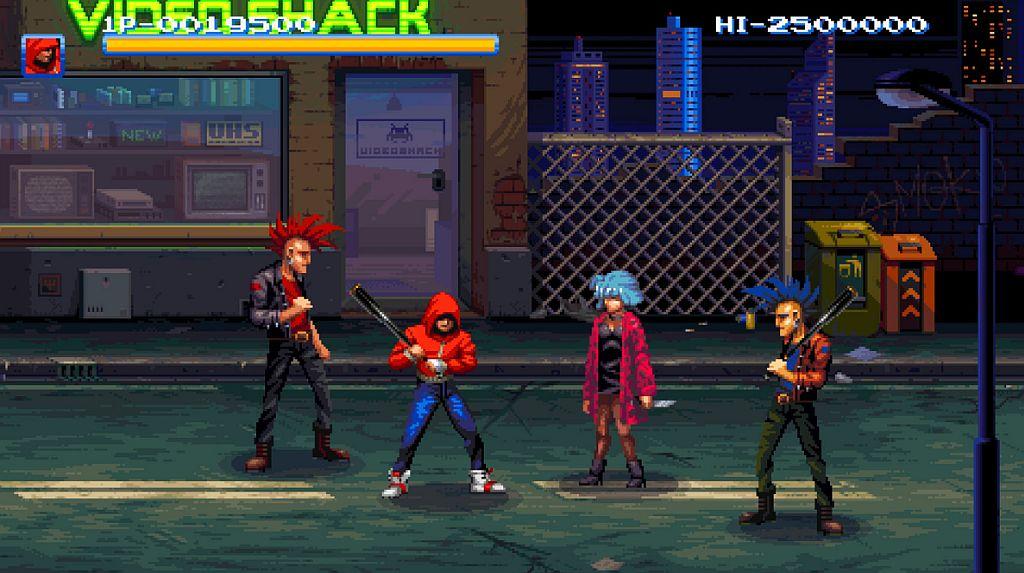 Indie Retro News: 198X - Multi-Genre Arcade game by Hi-Bit