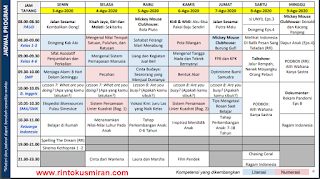 Panduan dan Jadwal Belajar Dari Rumah di TVRI Minggu Ke Tujuhbelas 03 - 09  Agustus 2020