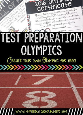 Making Test Prep Fun with an Olympic Competition