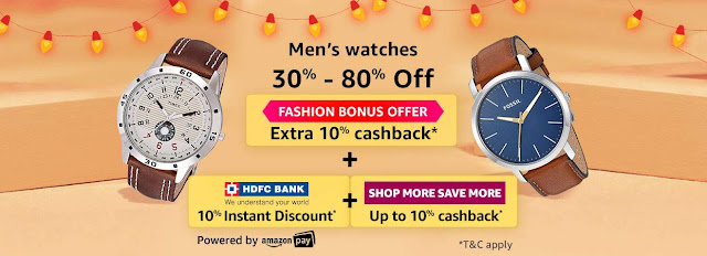 Men's Watches 30% to 80% off
