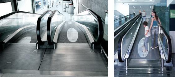 escalator advertising