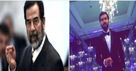 حفيد صدام يفجرها مدويه ويخبر تفاصيل تثيرضجه كبيره فى الصحف العالميه