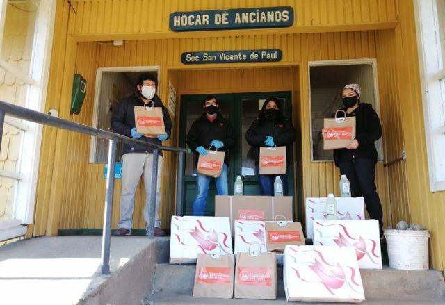 Donación en Ancud