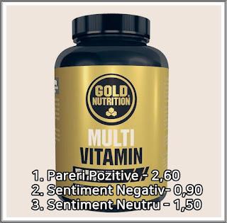 forum pareri multivitamine gold nutrition