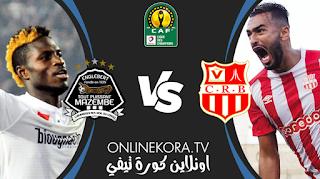 مشاهدة مباراة شباب رياضي بلوزداد ومازيمبي بث مباشر اليوم 02-04-2021 في دوري أبطال أفريقيا