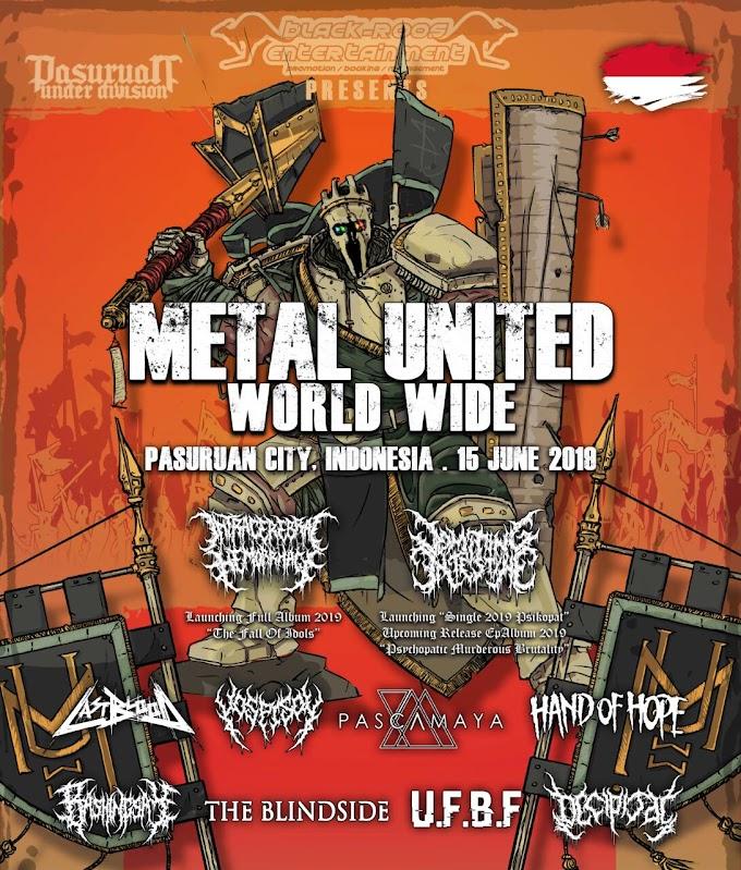 Metal United World Wide 2019 Kembali Diadakan Di Kota Pasuruan