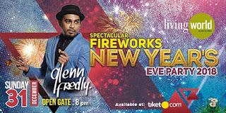 Cari tiket event new year eve party di living world mal tangerang