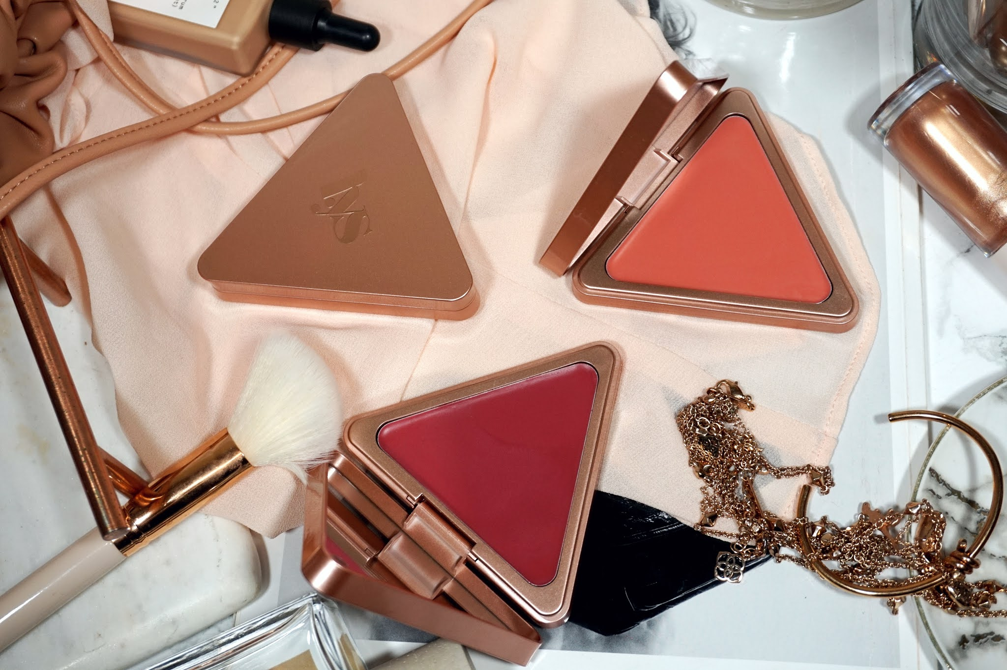 LYS Beauty Higher Standard Satin Matte Cream Blush Review and Swatches
