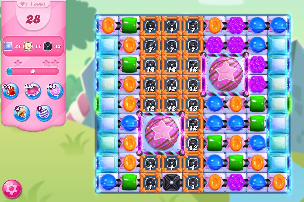 Candy Crush Saga level 8301