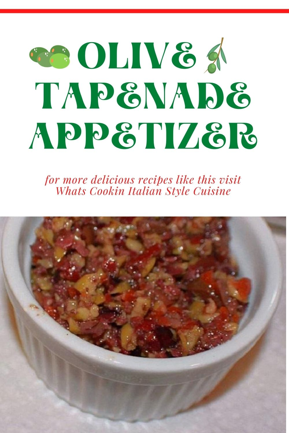 this is an appetizer and pin for later on how to make olive tapenade