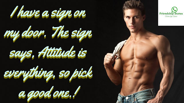 High level Attitude Status in English