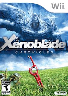 Xenoblade Chronicles - Carátula Pal
