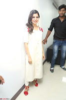 Samantha Ruth Prabhu Smiling Beauty in White Dress Launches VCare Clinic 15 June 2017 022.JPG