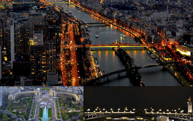 Paris - Beatiful city also called as city of lights and all white city