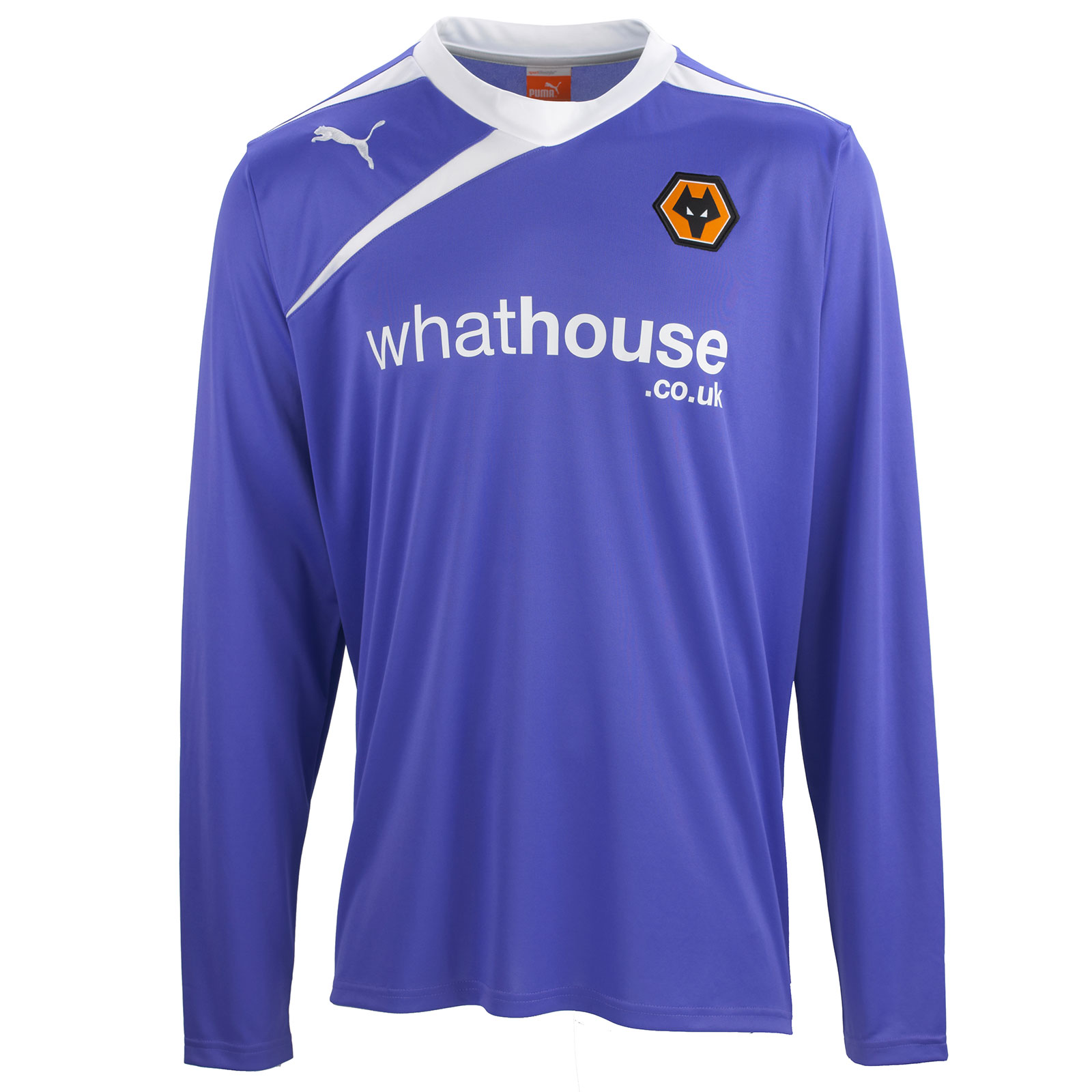 Sale For Puma Wolves 13 14 Home + Away Kits Released b58b9388e