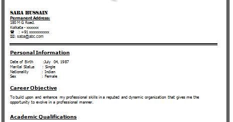 resume for in kolkata sle customer service resume