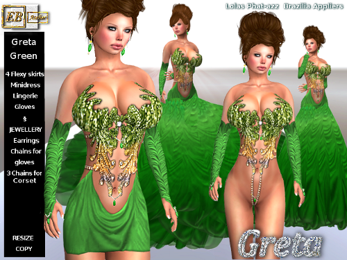 https://marketplace.secondlife.com/p/EB-Atelier-GRETA-GREEN-OUTFIT-w-Phat-azz-Lolas-Brazilia-Appliers-italian-designer/5928902