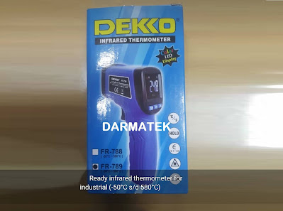 Jual DEKKO FR 789 Infrared Thermometer Bidang Industri