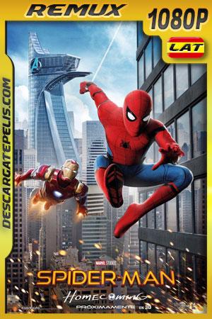 Spider-Man: De regreso a casa (2017) 1080p BDRemux Latino – Ingles