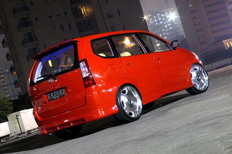 Modified Car Toyota Avanza