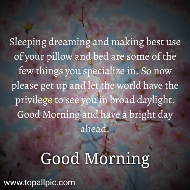 good morning messages images for him