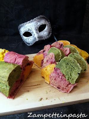 Pane colorato senza coloranti - Ricetta pane colorato