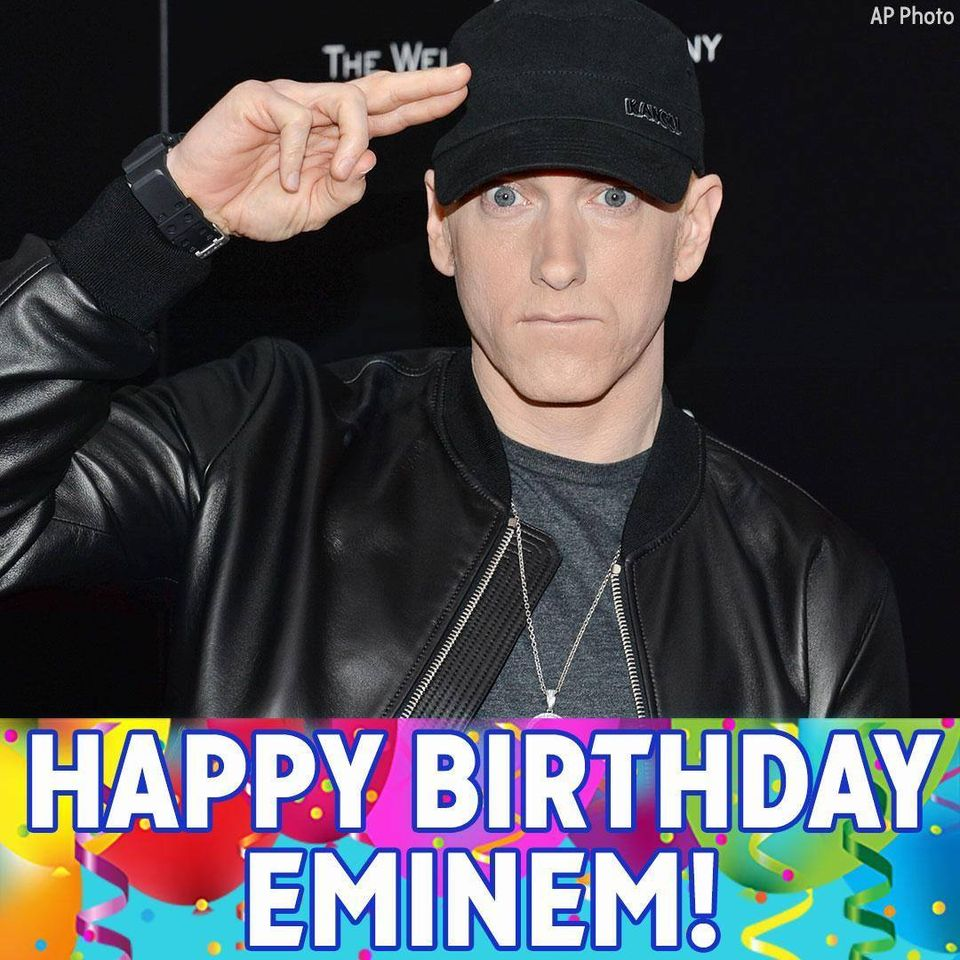 Eminem's Birthday Wishes Awesome Images, Pictures, Photos, Wallpapers
