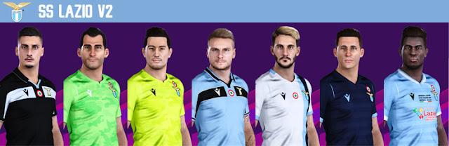 PES 2020 Lazio Kits by VinVanDam13