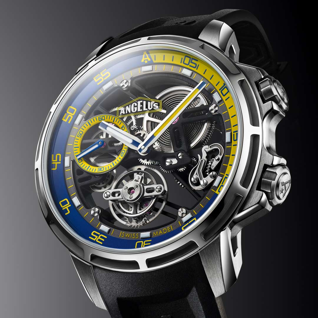 Angelus - U50 Diver Tourbillon | Time and Watches | The