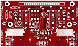 STK 4132 II PCB Layout Single