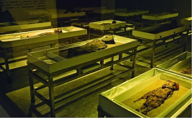 The 7,000-year-old mummy is included in the World Heritage list