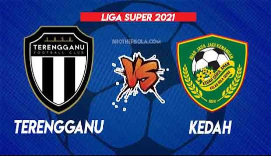 Live Streaming Terengganu vs Kedah 21.8.2021