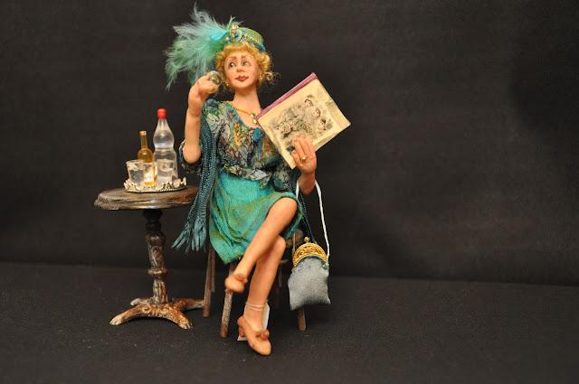 Doris-Tussing-minyatur-doolhouse