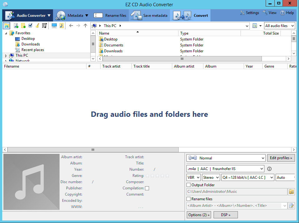 EZ CD Audio Converter 9.3.1.1