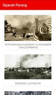 Daftar sejarah perang di Indonesia