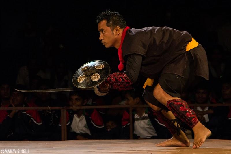 Thang Ta Folk Dance Manipur